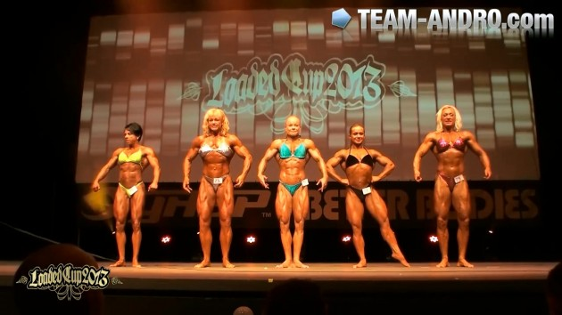 Loaded Cup Final Women ´s Bodybuilding open class 2013