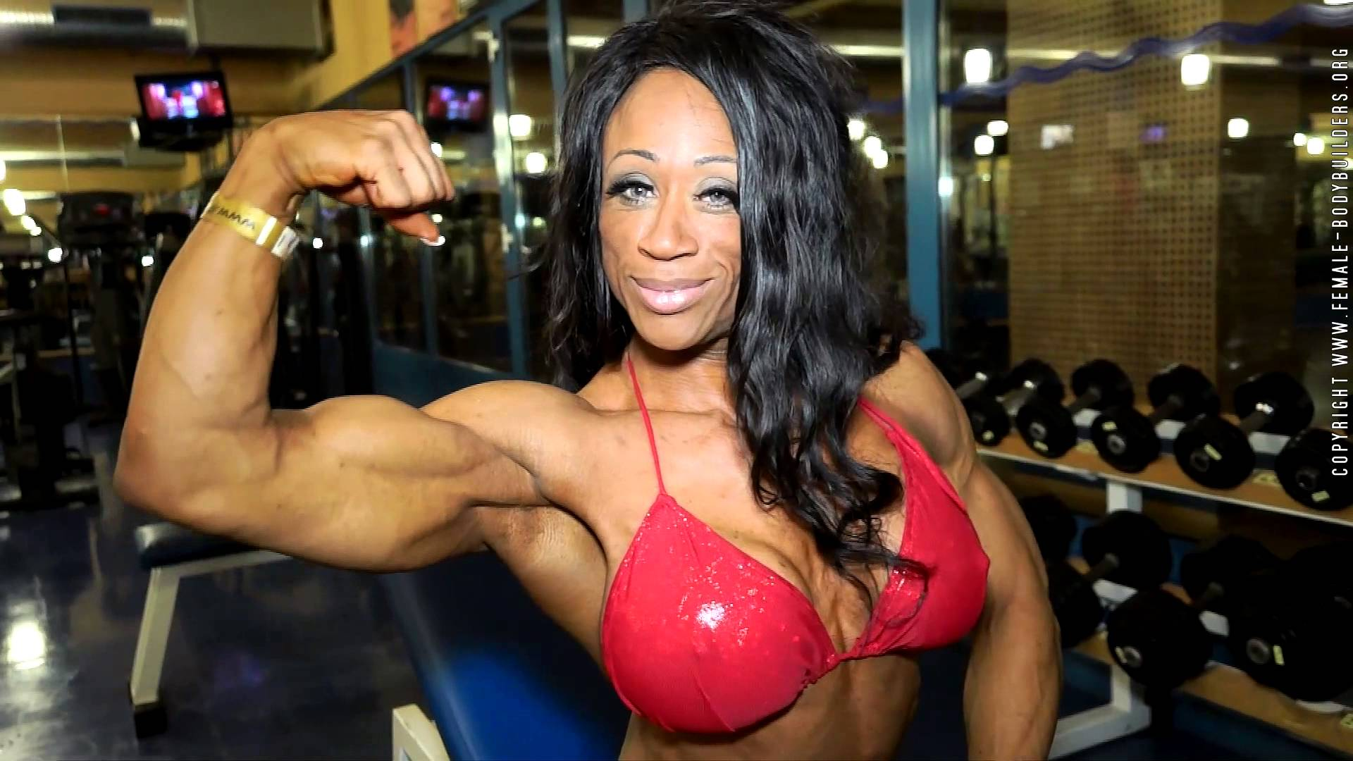 Zee Richards – Posing And Workout