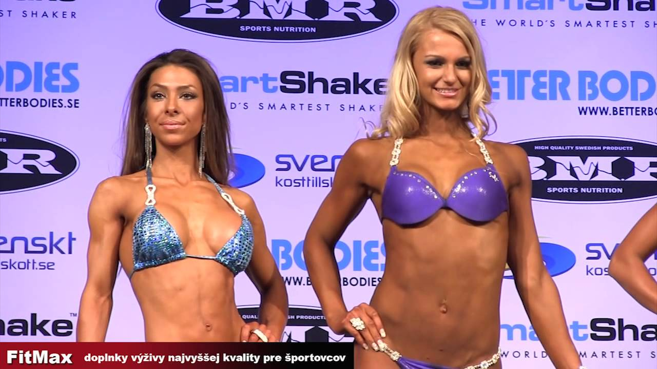 BMR Grand Prix Sweden 2013 – Bikini And BodyFitness
