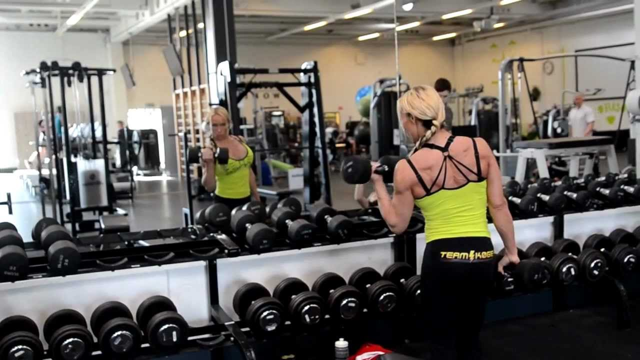 Kathrin Hardiman Workout