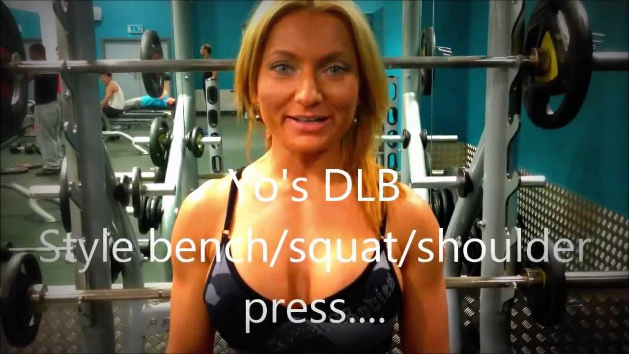 Yo Lazarov – Bench, Squat And Shoulder Press