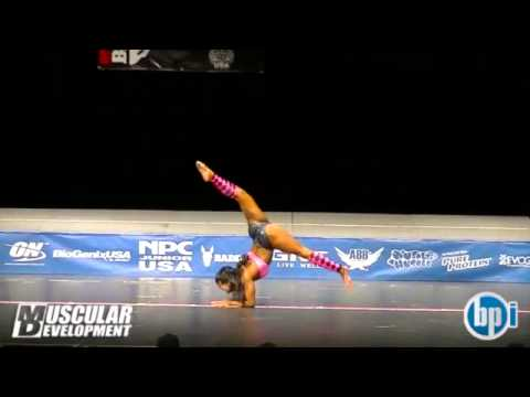 NPC Junior USA 2013 – Fitness, Physique & Bodybuilding Prejudging