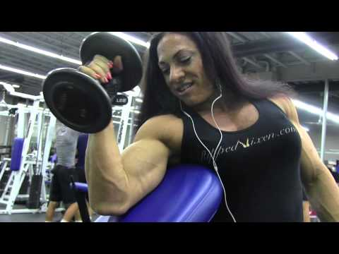 Ripped Vixen – Biceps Workout Part II