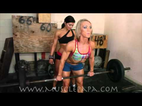 Kristen Smithers & Amy Lindsey Workout