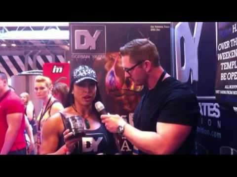 Gal Ferreira Yates – Interview At The Bodypower 2013