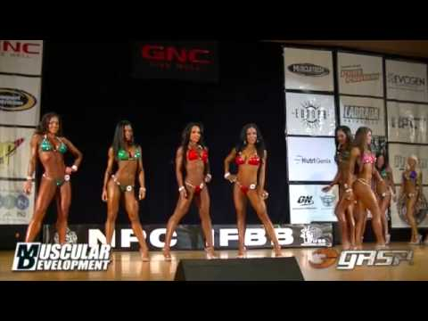 NPC Universe 2018 – Women's Physique Pre-judging Backstage
