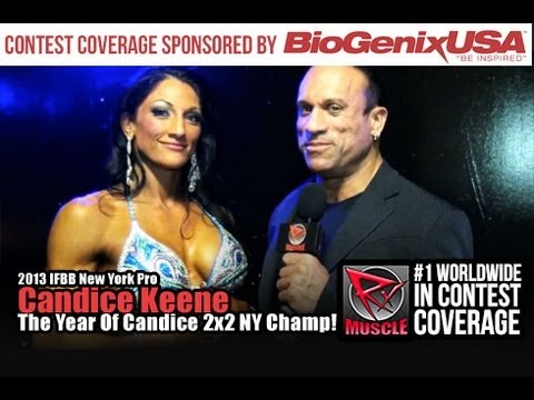 Candice Keene At The New York Pro 2013