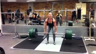 Sarah Backman – Deadlift 160kg (353lb)