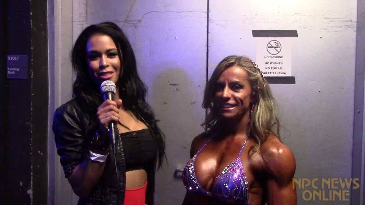 Juliana Malacarne After Winning The IFBB New York Pro 2013