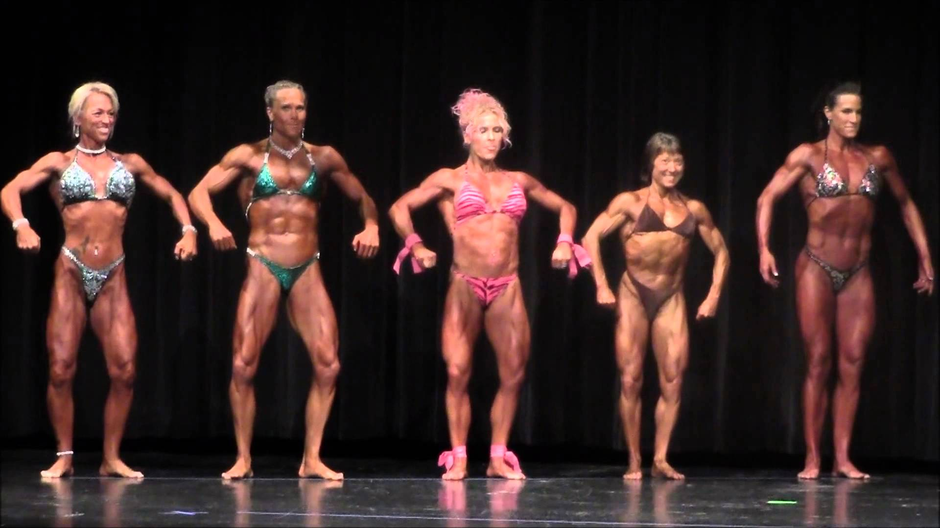 IFPA Pro North American 2013 – Top 5 Female Pro Bodybuilders