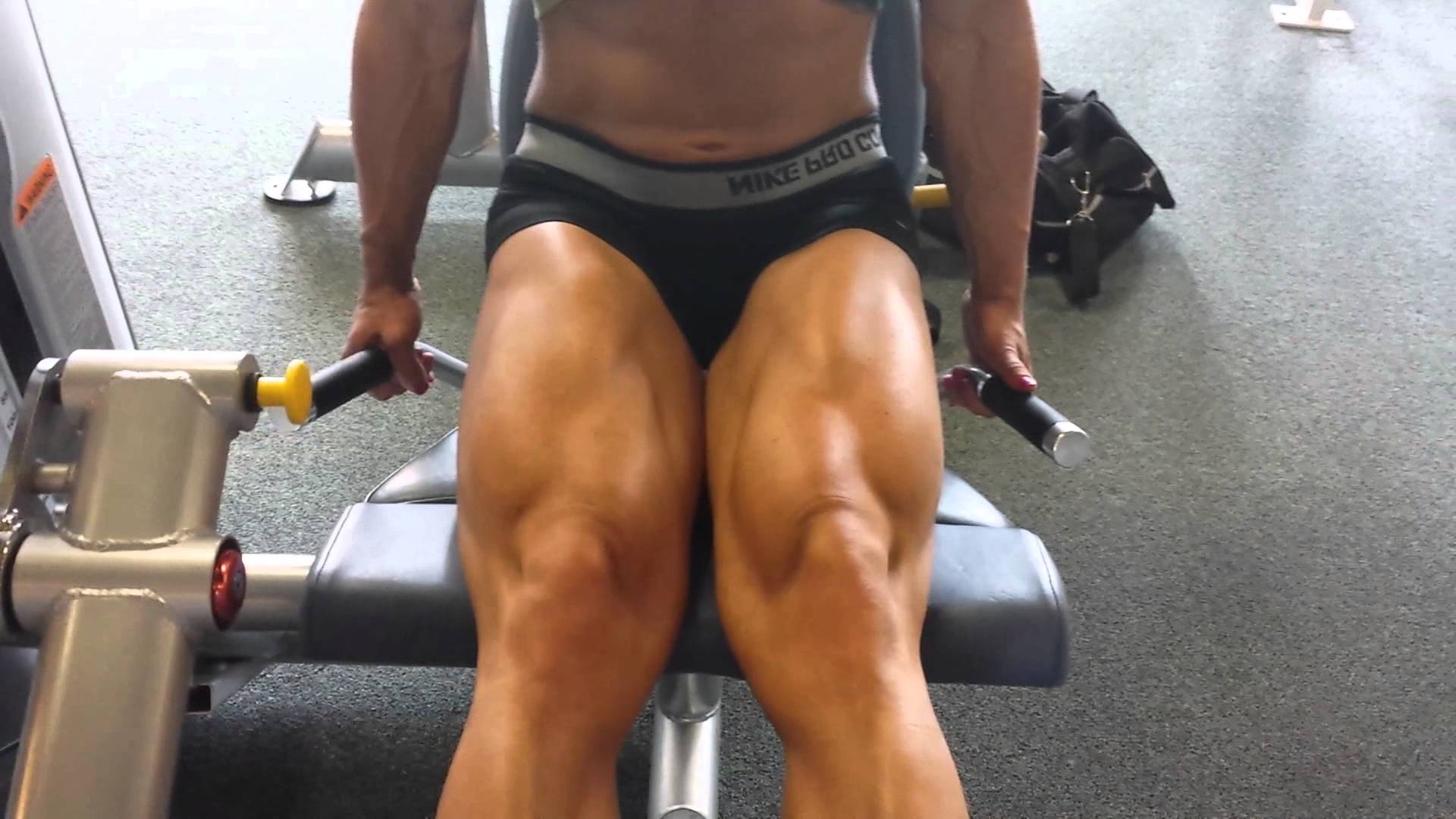 Jamie Pinder – Legs, Delts & Shoulders Workout