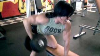 Suzy Kellner – Back Workout Part II