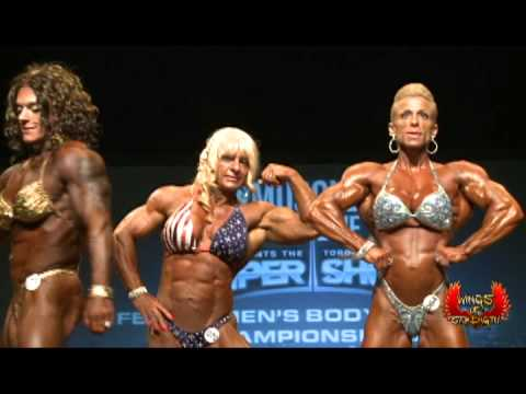 Toronto Pro SuperShow 2013 – PoseDown Women's Bodybuilding