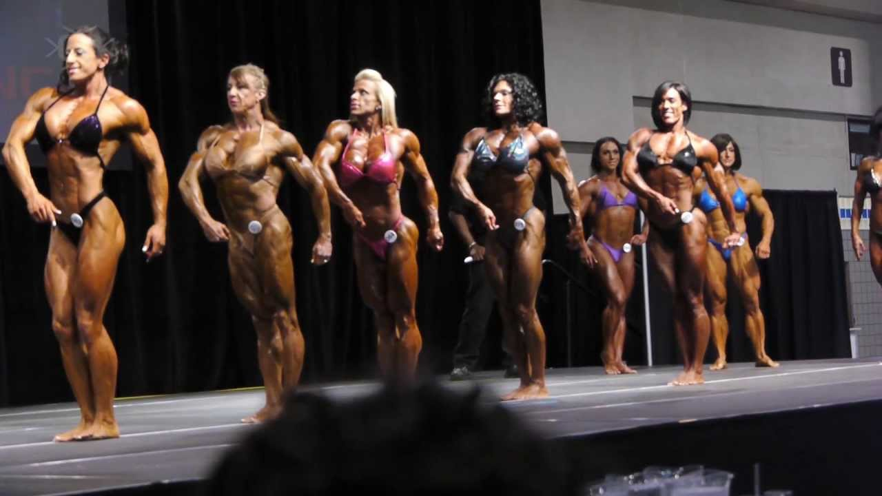 Toronto Pro SuperShow 2013 – Women's Bodybuilding Prejudging