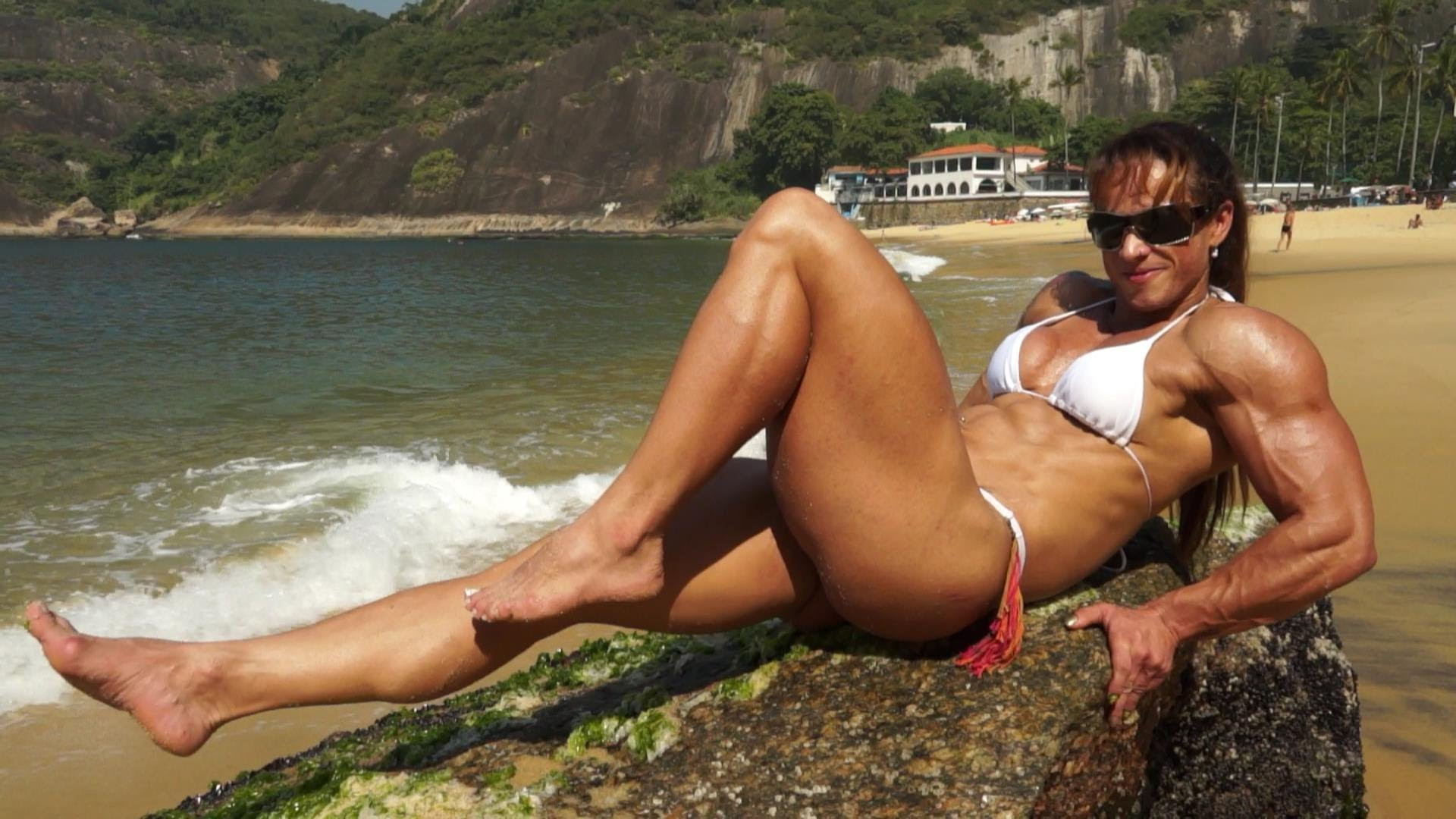 Gilberia Cunha – Posing On The Beach