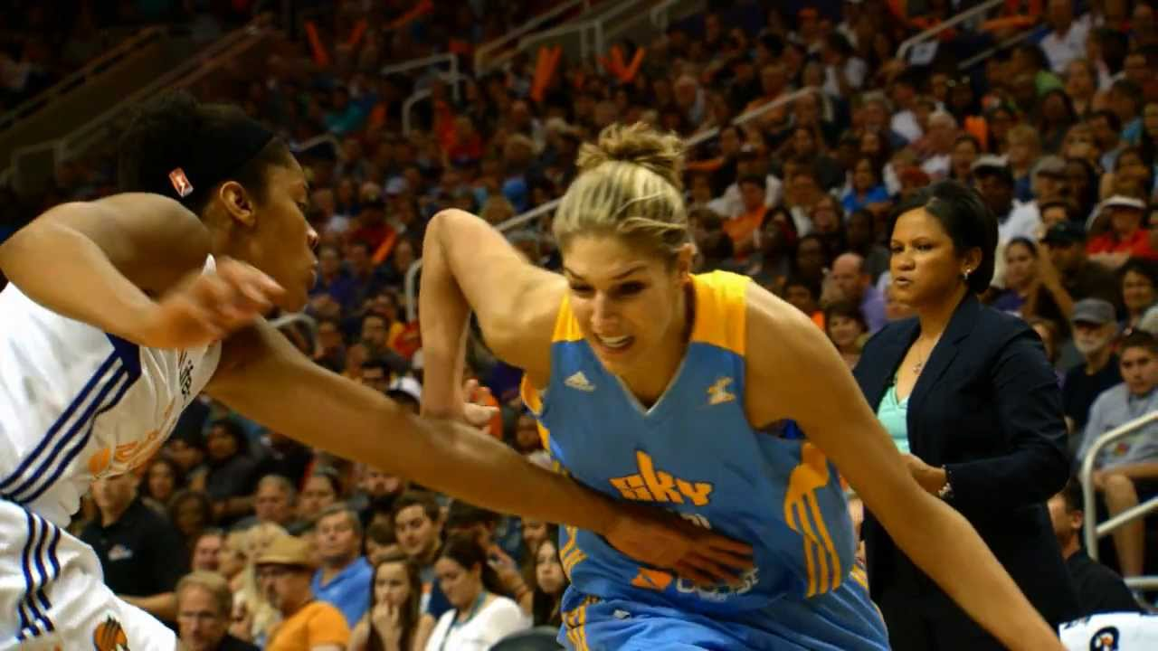 "Elena Delle Donne – 196cm (6'5"") Tall Basketball Player"