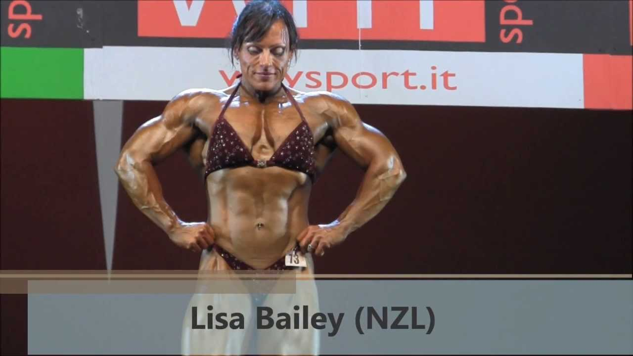 Lisa Bailey – NABBA Worlds 2013
