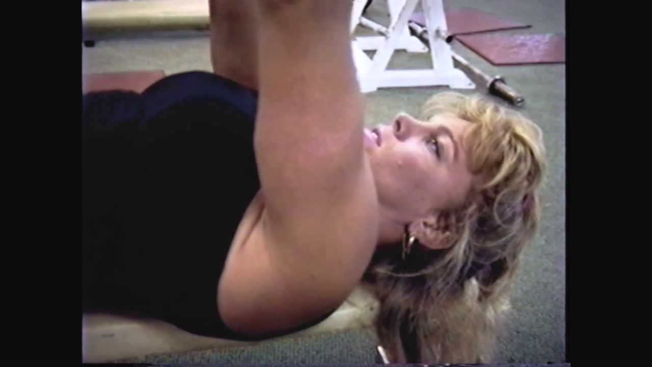Joan Wood – Workout 1986