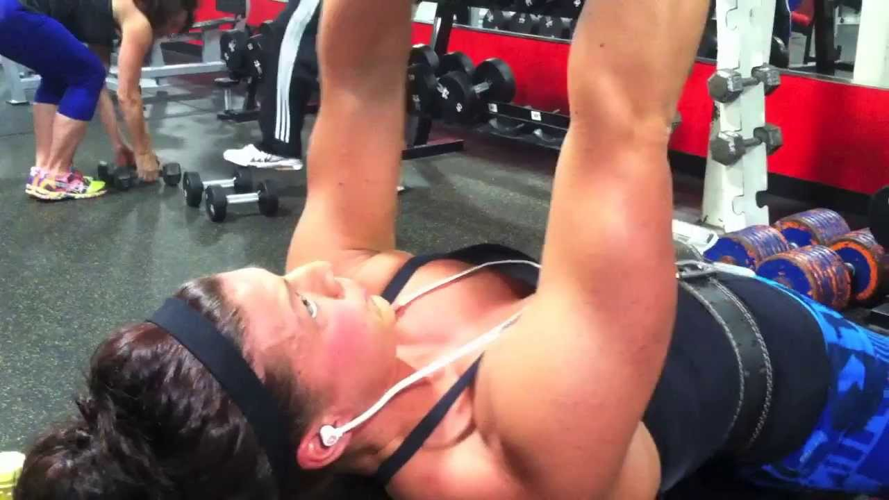 Ariel Gail – Chest Workout