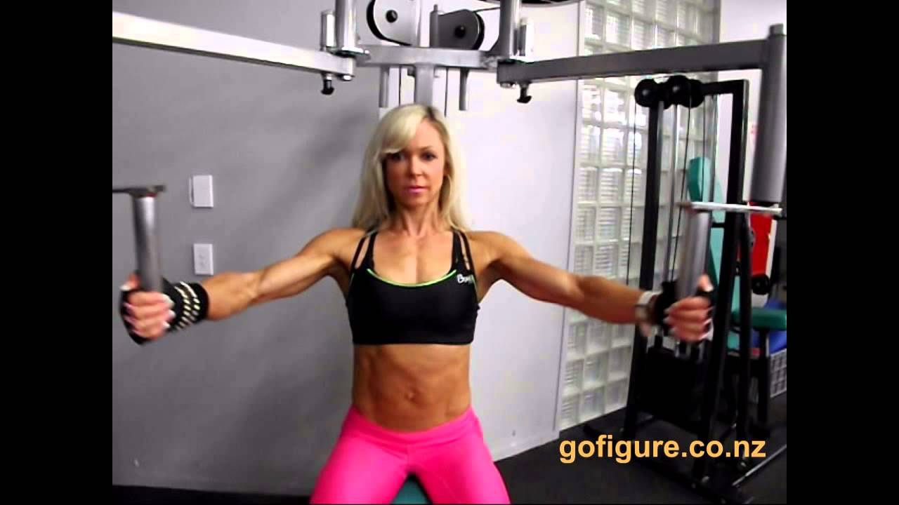 Johanna Mountfort – Ms. Athletic, WFF Universe 2013