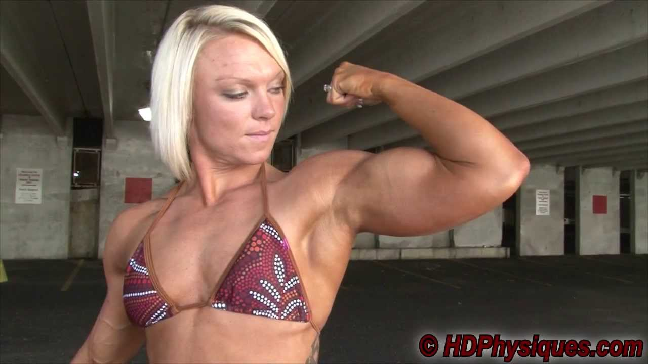 Christine Moyer Flexing
