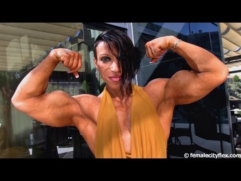 Female Bodybuilders Flexing Mix