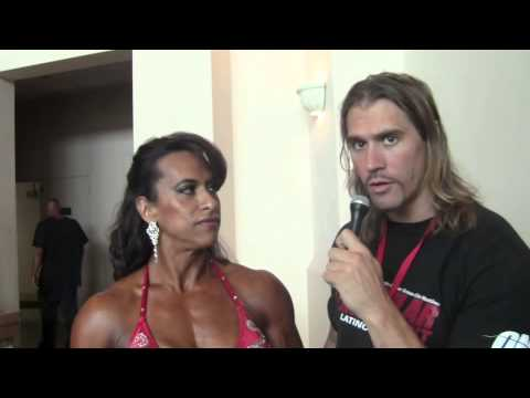 Myriam Bustamante – Interview At IFBB Tampa Pro 2013