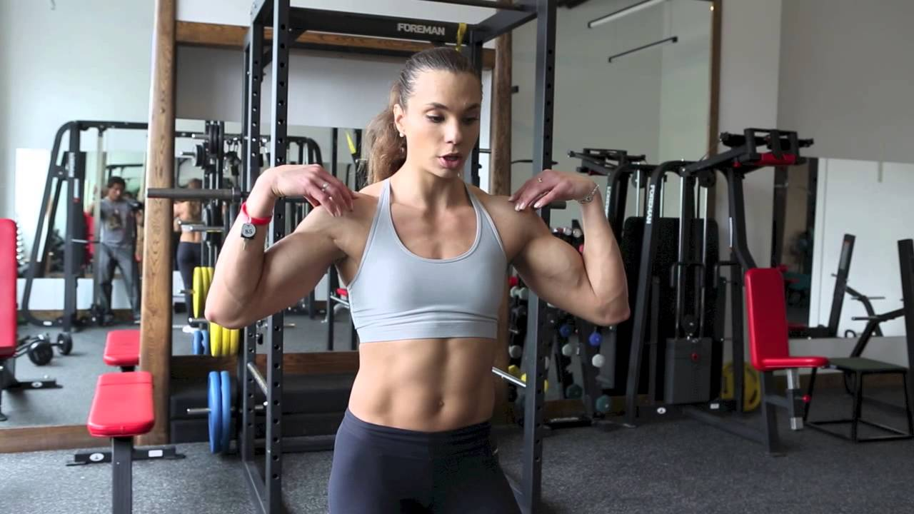 Ekaterina Gamagina Workout