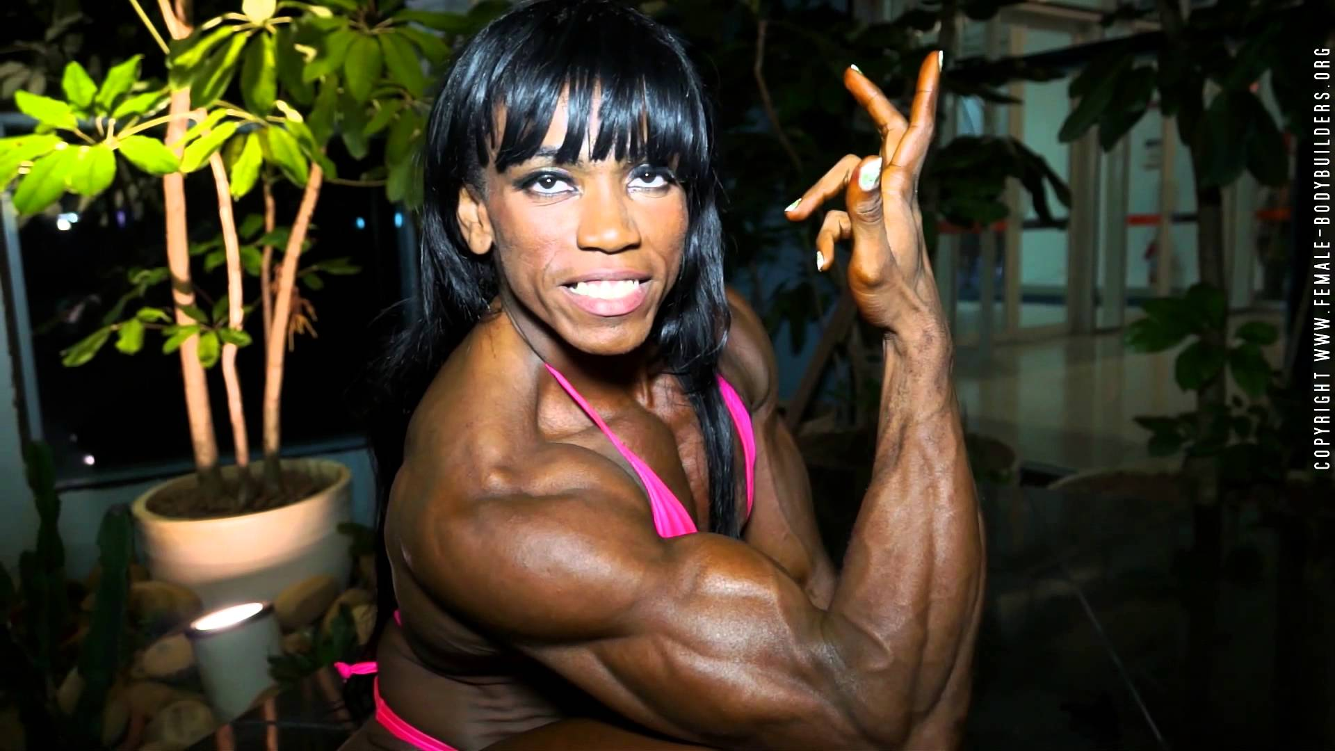Anne-Marie – I've Lost 45kg (100lbs) And Become A Bodybuilder