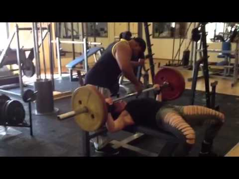 Maria Wattel – Bench Press 100kg