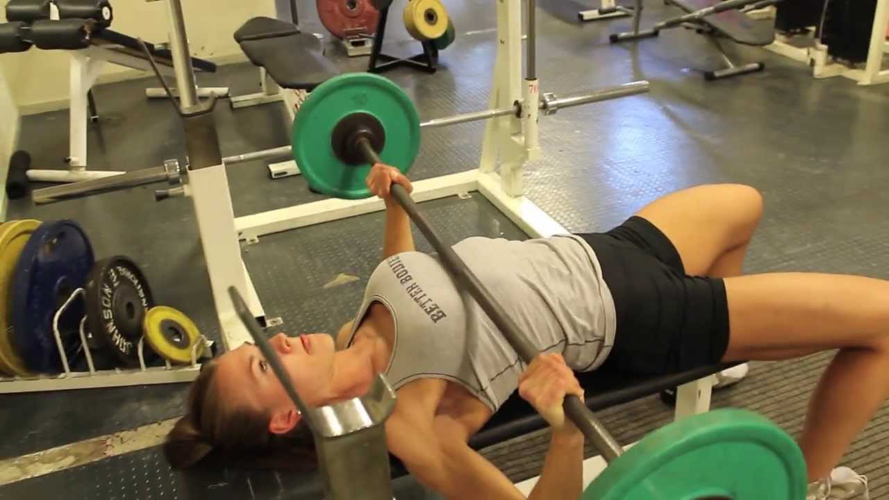 Therese Ødegaard Workout Part 2