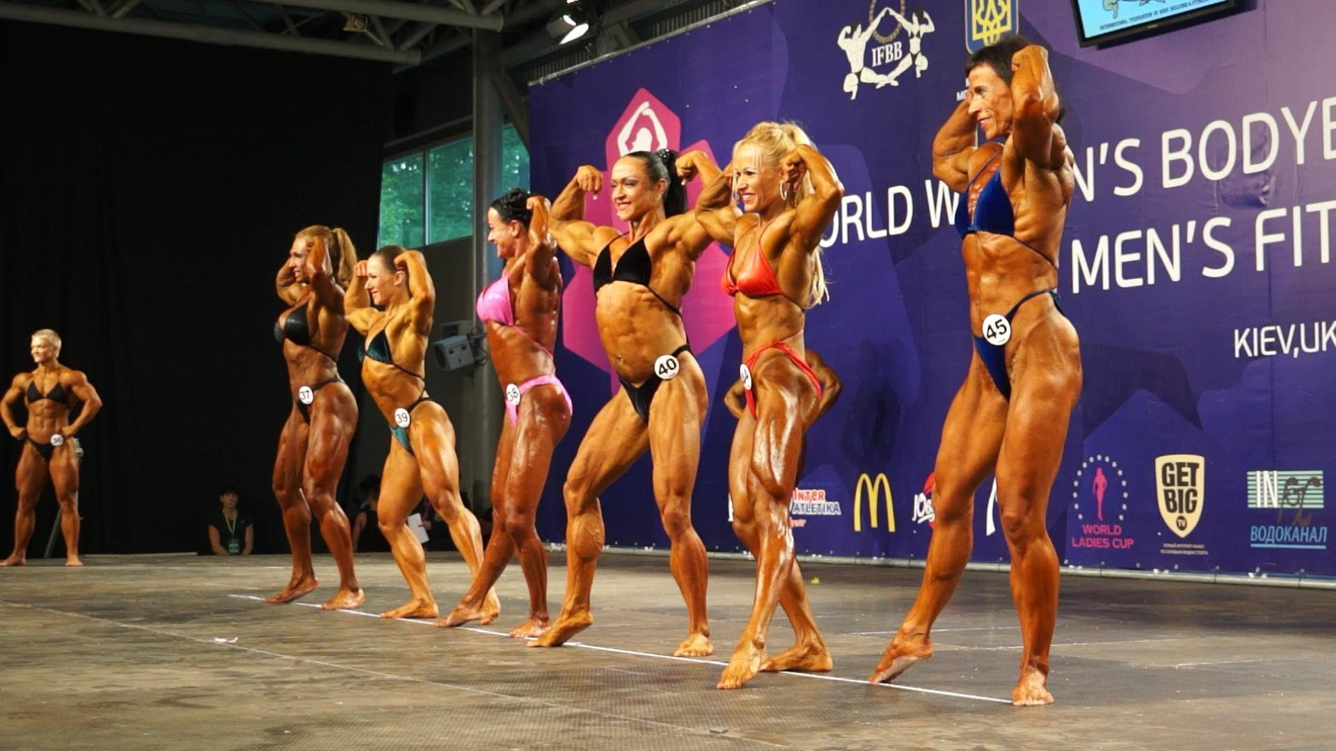 IFBB World Women's Bodybuilding Championship Kiev Ukraine 2013