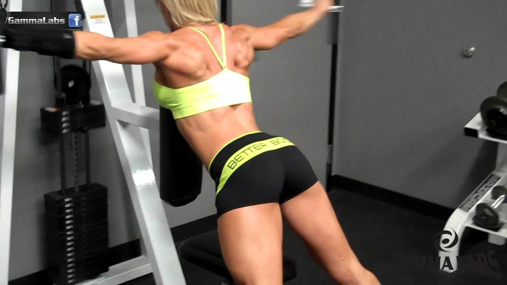 Whitney Jones – Back & Shoulders Workout