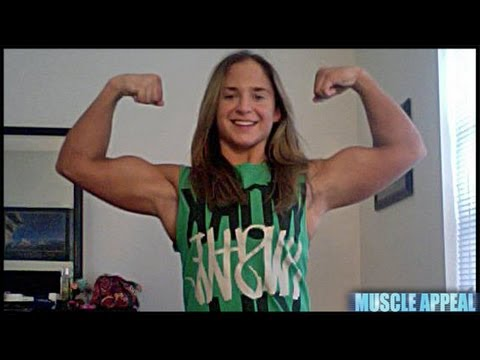 Gina The Ultimate Muscle Girl
