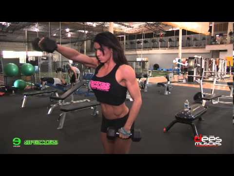Heather Dees – Shoulders Workout