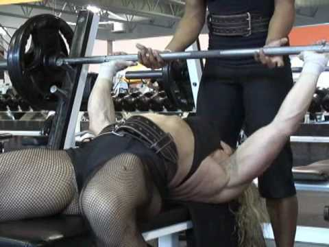 Dawn Alison – Chest Workout