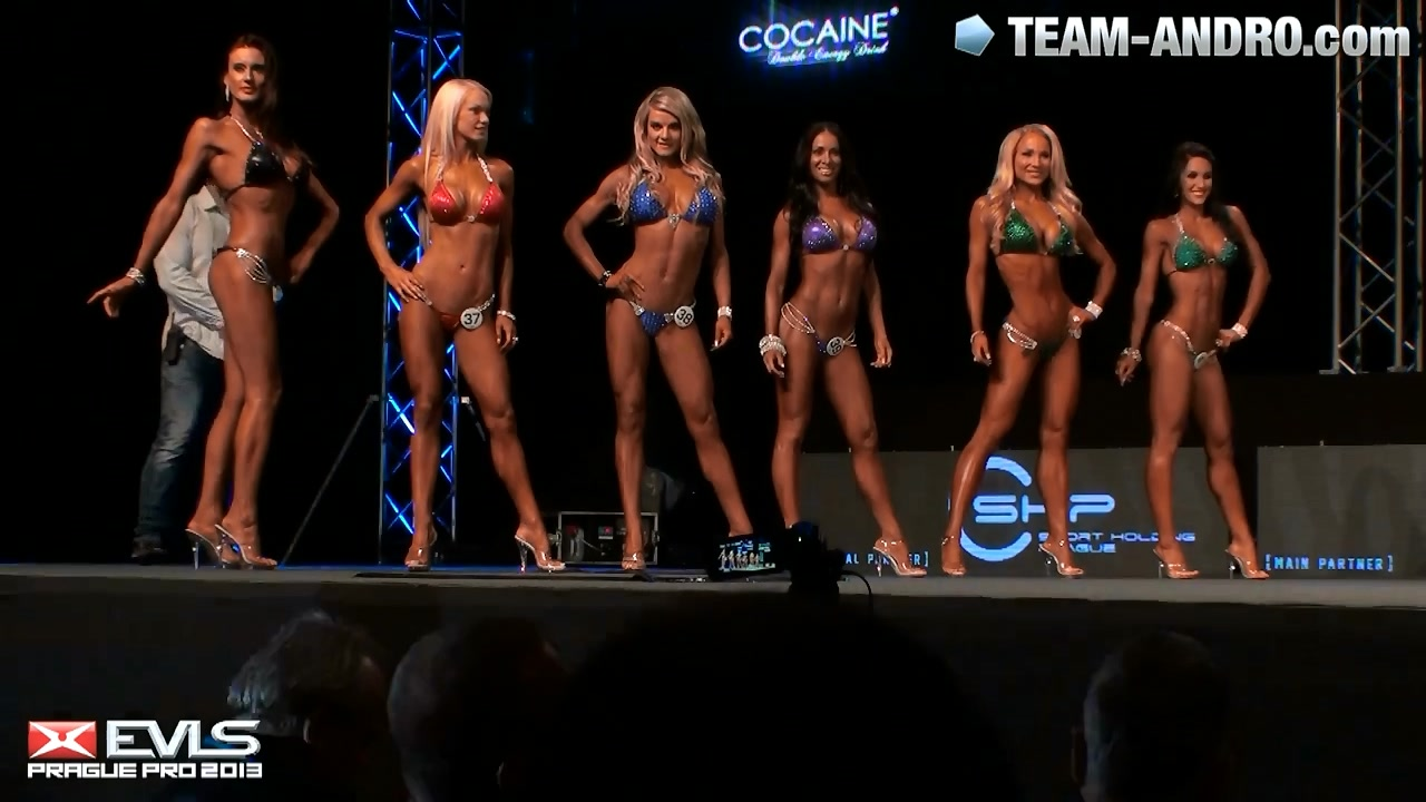 EVLS Prague Pro Bikini Final 2013