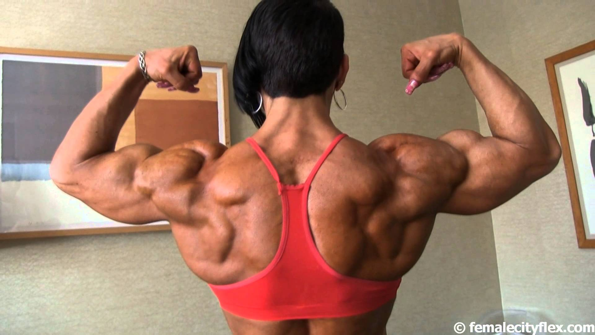 Virginia Sanchez Macias – Back Posing