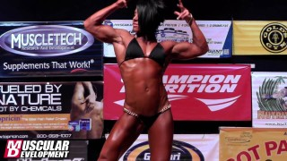 Dana Linn Bailey – Guest Posing At The NPC New York State Grand Prix 2013