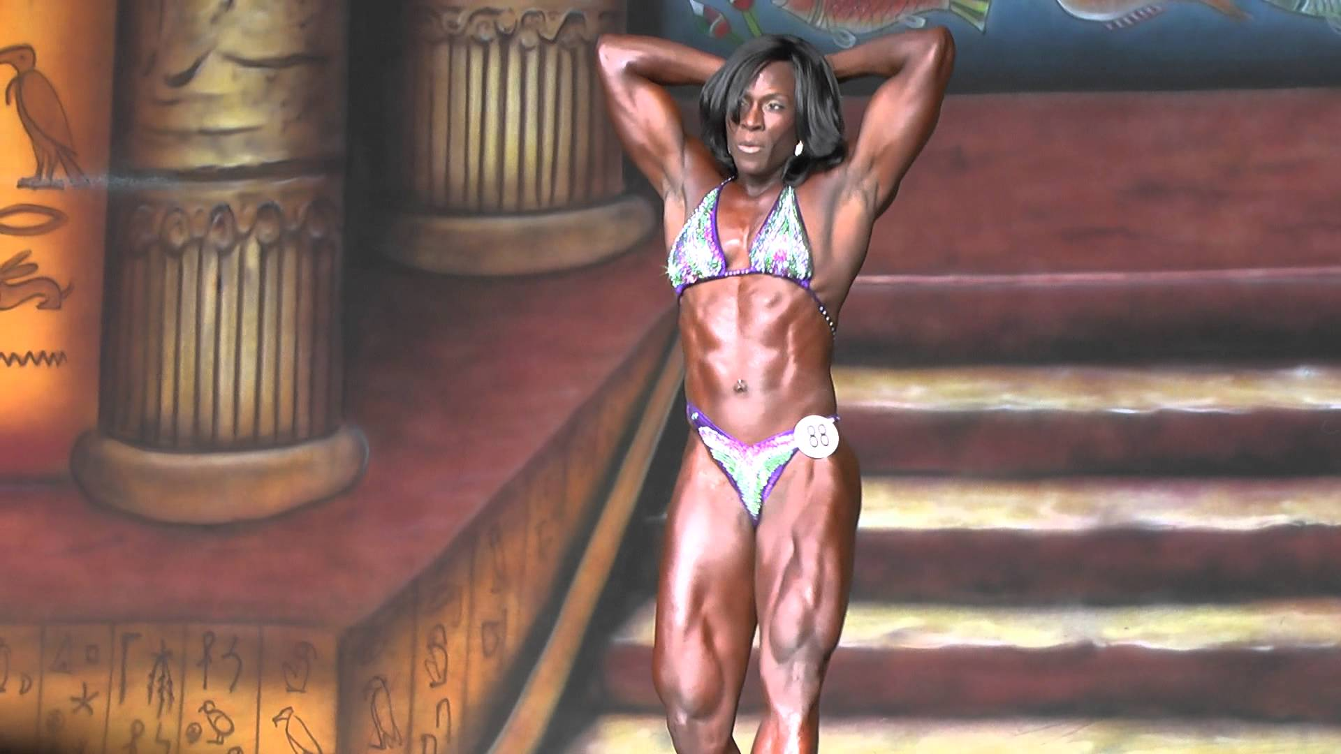 Candrea Adams Posing Routine