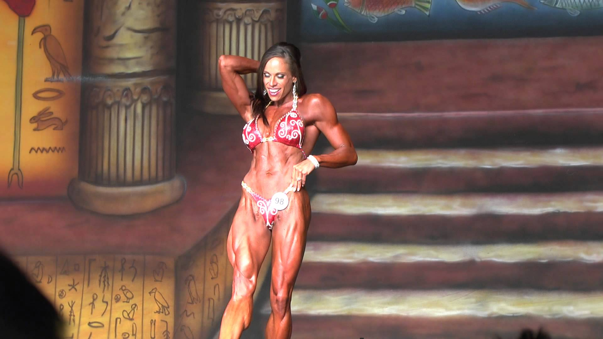 Jillian Reville Posing Routine
