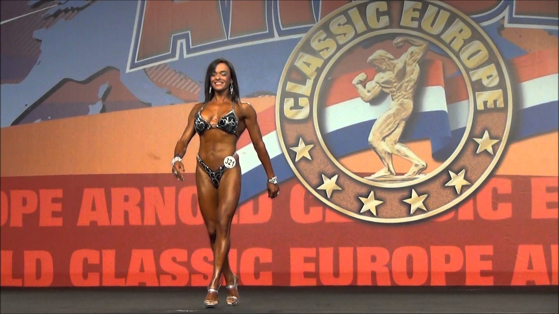 Arnold Classic Europe 2013 – BodyFitness Final Up To 158cm