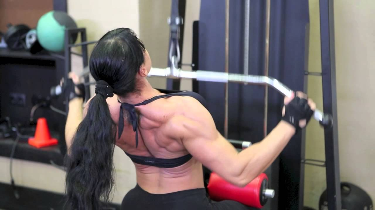 Maria Kuzmina Workout