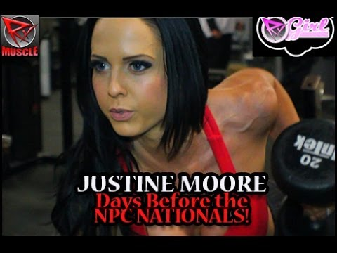 Justine Moore Workout