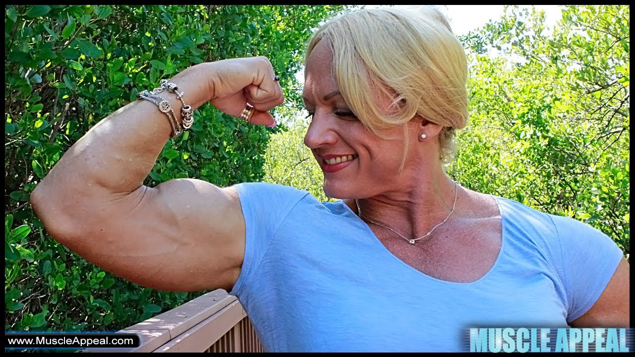 Shawna Strong – IFBB Pro Measuring Her Muscles