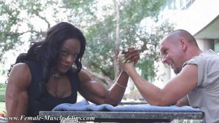 Leonie Rose – Mixed Armwrestling