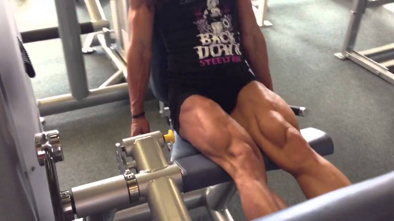 Jamie Pinder – Quads Workout