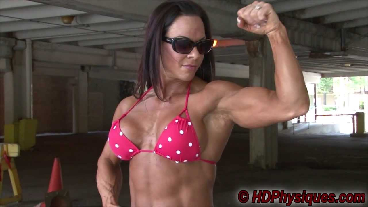 Britney Sheehan Flexing