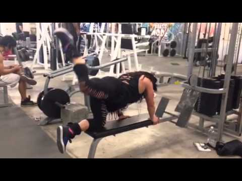 Tonia Moore – Hams & Back Workout