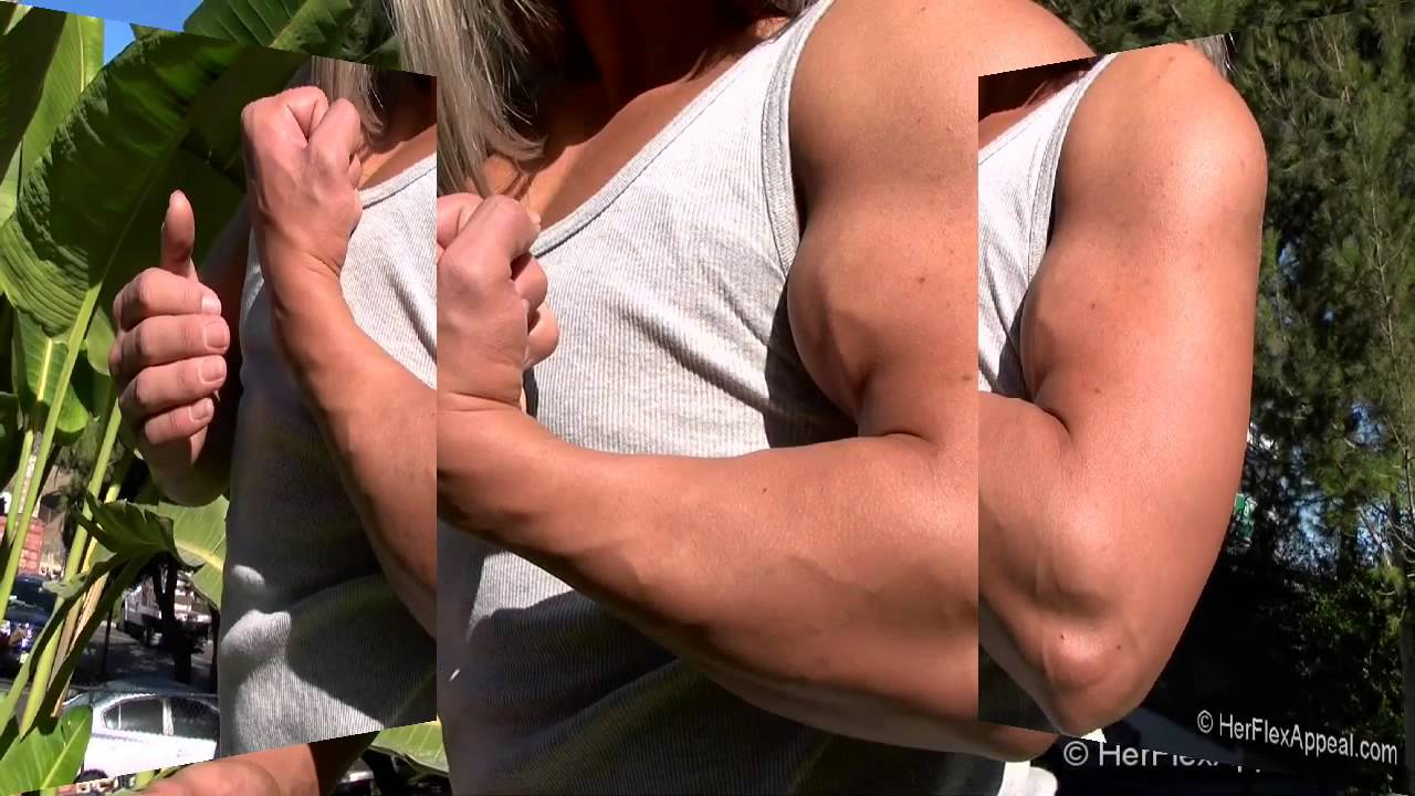 Sierra Mangus Flexing